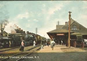 Old Chatham rail station